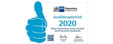 Ausbildungsbetrieb 2020 | v. Düsterlho, Rothammer und Partner mbB