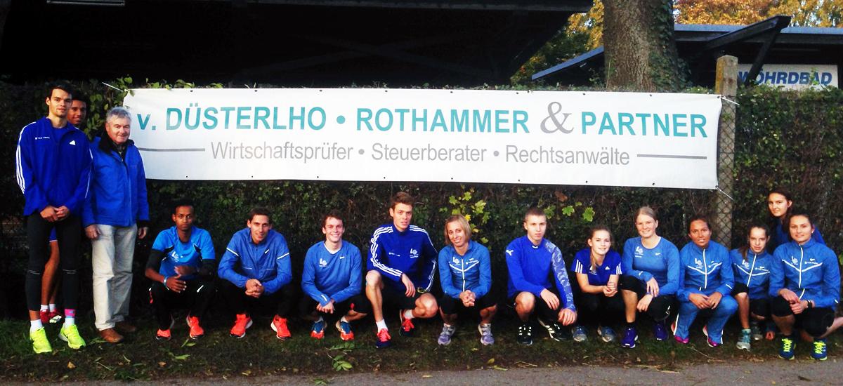 Leichtathletik Partner | v. Düsterlho, Rothammer und Partner mbB